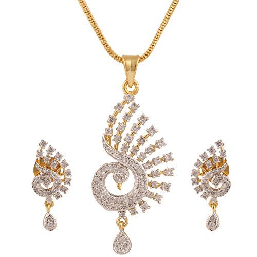swasti-jewels-zircon-peacock-shaped-traditional-fashion-jewelry-set-pendant-earrings-for-women