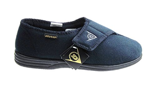 dunlop-mens-washable-velcro-slippers-navy-size-uk-7-12-new-9