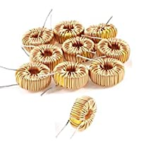 Tradico® 10Pcs Toroid Core Inductors Wire Wind Wound Diy Mah-100Uh 6A Coil Hot 2018