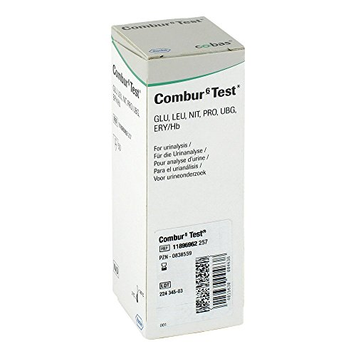 Combur 6 Test Teststreifen, 50 St.