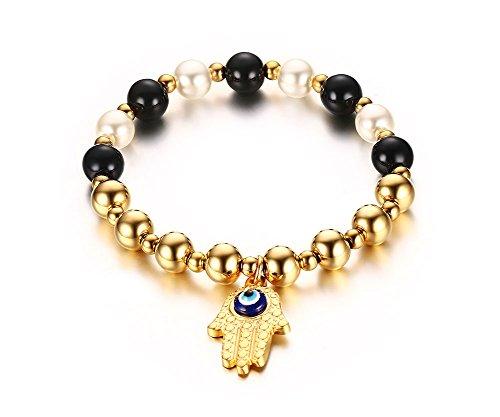 vnox-da-donna-in-acciaio-inox-occhio-mano-di-fatima-braccialetto-rosario-di-perle-oro-17-cm