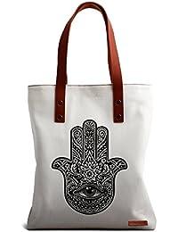 DailyObjects Hamsa The Hand Of God Tote Bag