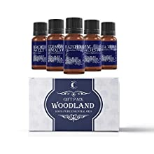 Mystic Moments Essential Oil Starter Pack - Woodland Oils - 5 x 10ml - 100% Pure