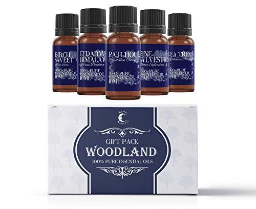 Scheda dettagliata Mystic Moments - Set di 5 oli essenziali Woodland, 10 ml, 100% puri