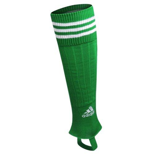 adidas Unisex - Kinder Stegstrümpf Drei-Streifen, twilight green/white, 37-39, 067144 (Nylon Herren Sock Pro Football)