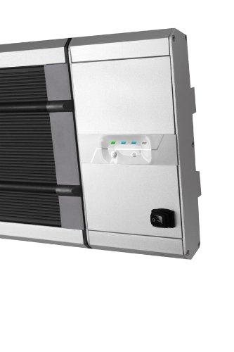 Primrose Firefly 1.800 Watt Infrarot-Dunkelstrahler, Terrassenheizung Wandmontage, 2 Leistungsstufen, inkl. Zeitschaltuhr und Fernbedienung - 5