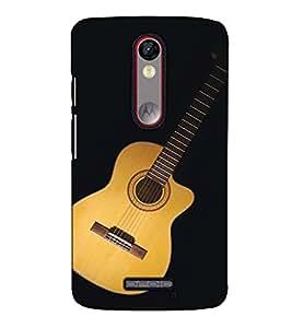 Fuson Designer Back Case Cover for Motorola Moto X Force :: Motorola Moto X Force Dual SIM (The Guitar theme)