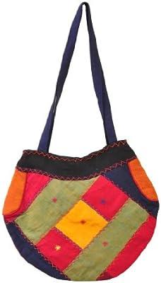 Mandala Tibetan Shop bohemio acolchado Patchwork bolso, Hippie bolsa