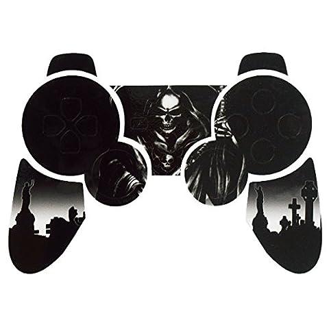 PlayStation 3 PS3 Controller Sticker - Aufkleber Schutzfolie Skin für Sony Playstation DualShock 3 Wireless Controller Reaper