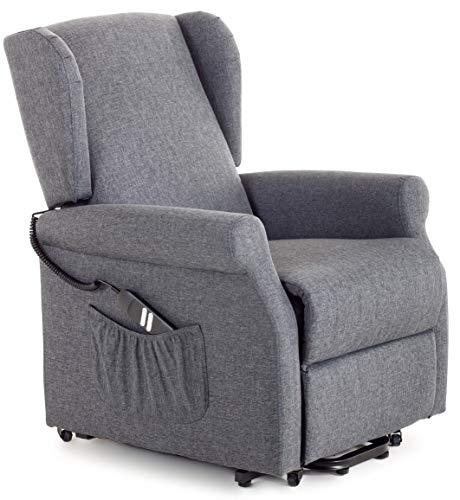 my living sillón de Relax eléctrica con Eléctrico Lift 2Motores de Tela...
