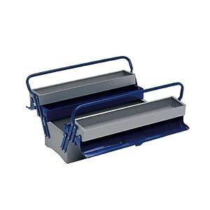 Alyco 192735 – Caja de herramientas metalica de 5 bandejas 500 x 200 x 240 mm