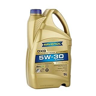 RAVENOL DXG SAE 5W-30 / 5W30 Vollsynthetisches Motoröl (5 Liter)