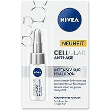 NIVEA Anti-Falten 7 Tage Intensiv Kur mit Hyaluron, 5 ml Ampulle , CELLular Anti-Age