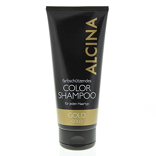 Color Shampoo gold, 200 ml, gold