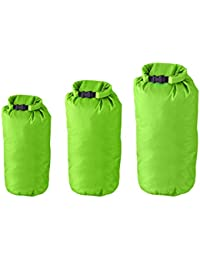 Milestone Camping Dry Sacks (Packof 3) - Green