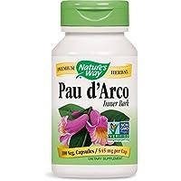 Nature's Way Pau d'Arco Inner Bark - 100 Capsules