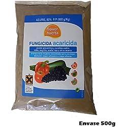 Fungicida acaricida 500g acción preventiva curativa contra Oidio, Negrilla, Araña roja y otros ácaros