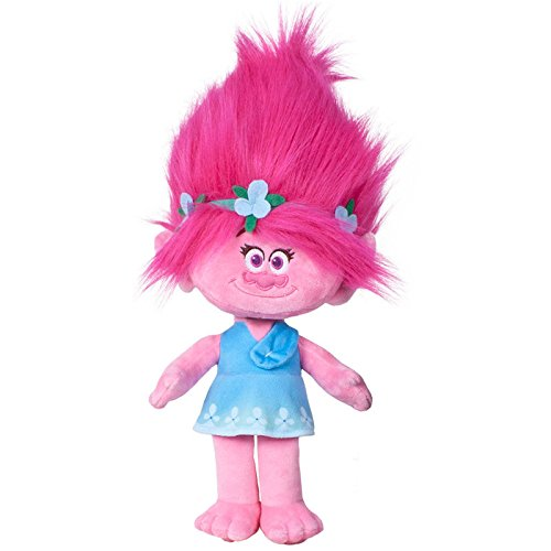 Trolls - Poppy, peluche muñeca, 40 cm (Famosa 654446)