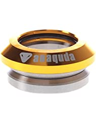 'Anaquda Full Integrated Headset Patinete de 1 1/8/BMX Impuestos de titanio Oro