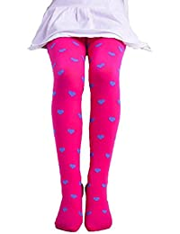 Pantalon Leggings Collants Solike Les filles Enfant Footed Coeur Pois Bas  Ballet bonbons Couleurs Opaque Stock 3576f4a1863