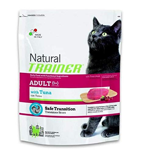 CROCCANTINI per Gatto 600 GR Natural Adult Cat con TONNO