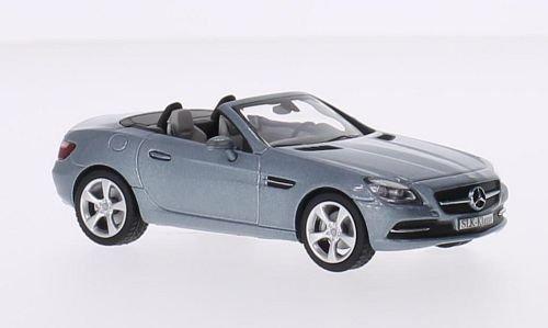 Mercedes SLK-classe (R172), metallic-gris, 2011, voiture miniature, Miniature déjà montée, I-Schuco 1:43