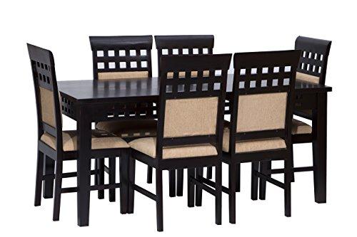 Woodmark 6 Seater Dining Set (Brown, Woodmark_004)