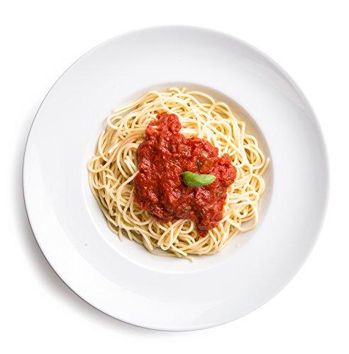 ller / Salatteller / Porzellanteller / Nudelteller / Suppenteller | Tiefe 6,2 cm (Große Teller)