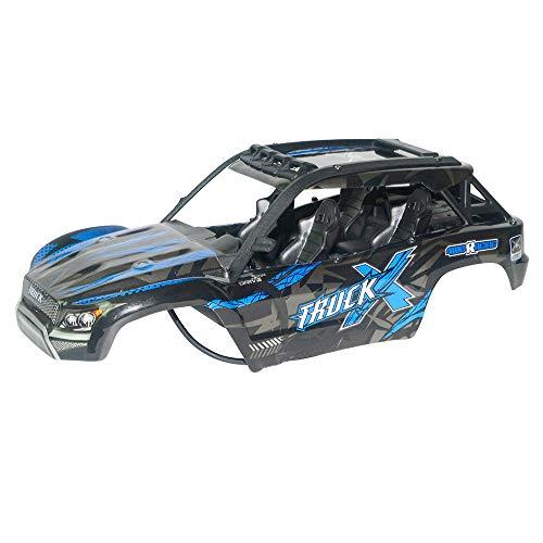 Skryo_ Fernbedienung Spielzeug Skryo ⚓⚓ Kompatibel mit XLH Q902 9137 1/16 Nitro RC 1/16 Truck Body Shell Cover (Blau) -