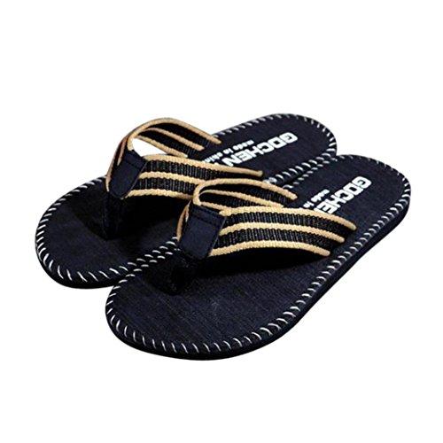 BBestseller-chanclas-Verano-Stripe-flip-flops-Shoes-Sandalias-hombre-zapatillas-flip-flops-zapatos-de-playa-zapatillas-de-casaeu40-44caqui