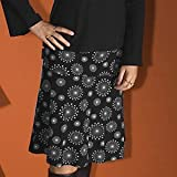 Bara Glad Knee Length Flinga Black Maternity Skirt Size S (Code: 20)