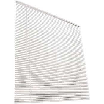 Jago Wooden Venetian Blinds (White, 40x160 cm)