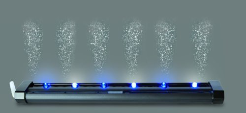 SuperFish LED Bubble Strip, mehrfarbig: grün, rot, blau, gelb, weiß, lila Mehrfarbig 20cm