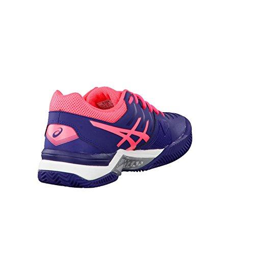 Asics Damen Gel-Challenger 11 Clay Tennisschuhe Indigo Blue/Diva Pink/Silver
