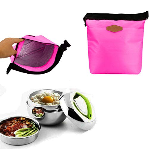 TAOtTAO Wasserdichter thermischer Kühler Isolierte Brotdose Portable Tote Storage Picknick Taschen Mode isolierte Tasche Lunchpaket (A) - Kühler Tasche Iglu Mittagessen
