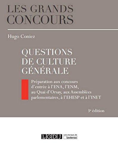 Questions Culture générale