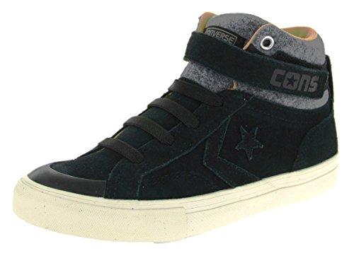 Converse 654371c Pro Blaze Strap Hi, Sneaker bambini Schwarz Kombi