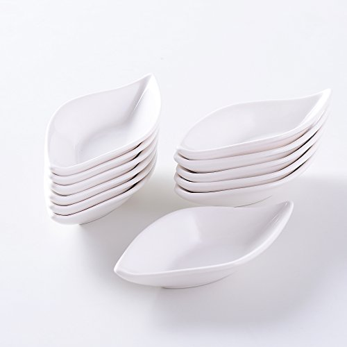 MALACASA, série Ramekin.Dish, 12 pcs Set Super Mini 4.75\
