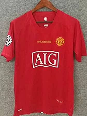 online store 03b65 57f9b E-TrendsMart 2007 Manchester United AIG Home Jersey/Ronaldo ...
