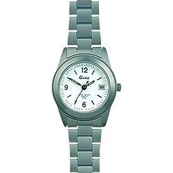 Garde Uhren aus Ruhla Titanuhr Titan-Damenuhr weiß 6827