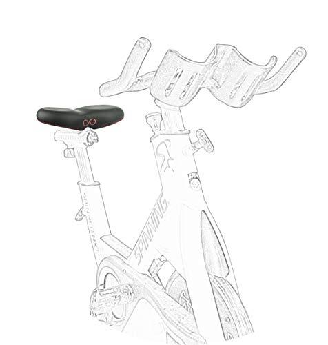 Genießen SellOttO-III-K12 Spinning - Bequemer Sattel Spinning-Bike zum Training von Männern und Fraue – Kein Druck auf den Genitalbereich wie von der Sportmedizin empfohlen