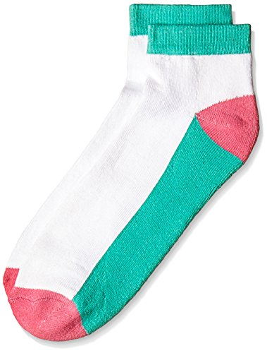 Lakomfort Men's Socks (LK-11007_Green and White)  available at amazon for Rs.76