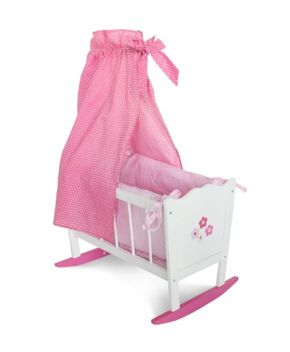 Bayer Chic 2000 504 99 - Puppenwiege Fiori (Spielen Bed Doll Baby)
