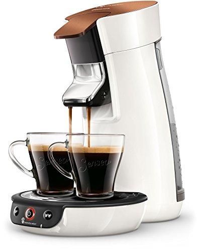 Philips Senseo Viva Café HD6569/00 Kaffeepadmaschine (Crema plus, Kaffee-Stärkeeinstellung)...