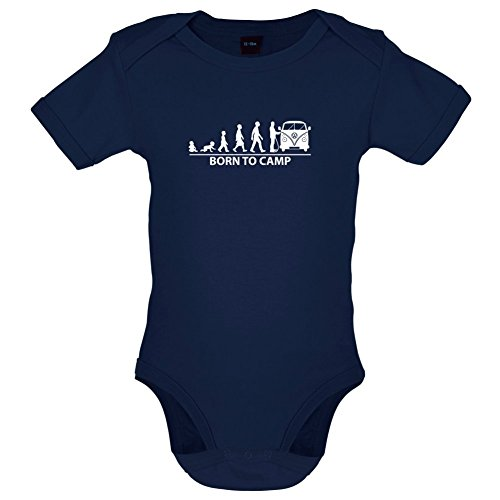 Dressdown Born to Camp - Lustiger Baby-Body