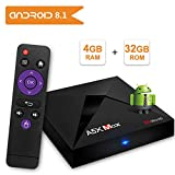 Android 8.1 TV Box Sidiwen A5X MAX 4GB/32GB RK3328 Quad Core 64 bit