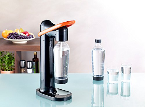 Rosenstein & Söhne Sprudler: Design Trinkwassersprudler WS-160.Soda (Soda Stream Trink-Wasser-Sprudler) -