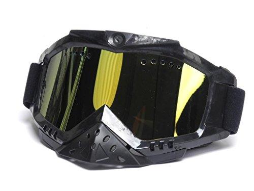 Action Cam Kamera USB Flash Sportbrille für Enduro Ski Flugsport X4-LIFE HD1