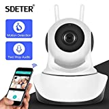 Surveillance Camera WiFi Sdeter 1080P 720P CCTV Camera HD IP Camera Wi-FI Wireless Home Security Camera Plug and Play Ptz P2P Night Version Caméra D'Intérieur Pâle