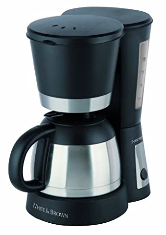 Cafetiere Isotherme Inox - White and Brown FA 833 Cafetière Isotherme